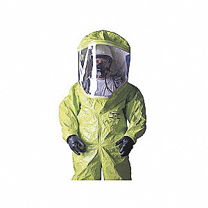 ENCAPSULATED SUIT,TYCHEM 10000,LEV-A,LG