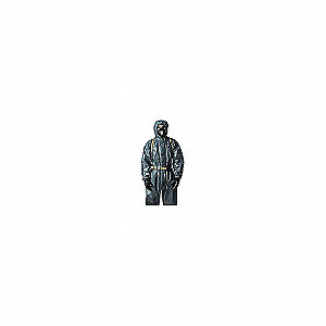 COVERALL,TYCHEM 6000FR,BOOTED,GREY,XL