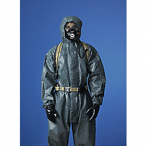 COVERALLS TYCHEM THERMOPRO GRAY