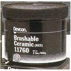EPOXY CERAMIC BRUSHABLE RED 2LB