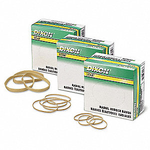 DIXON 1/4 LB. RUBBER BANDS #18