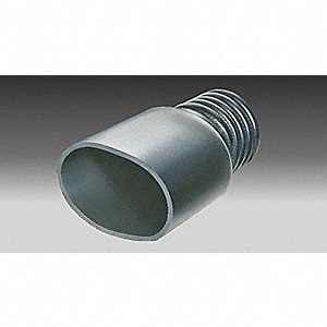 ADAPTER TAILPIPE UNIVERSAL OVAL 2-1