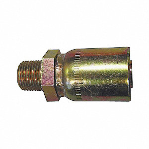 COUPLING HYD RIGID M ALE 1/2IN