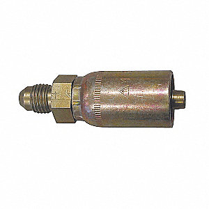 COUPLING CRIMP RIGID  MALE FLARE