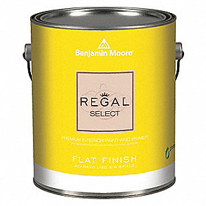 Interior Paint,Flat,1 gal,Celestia Blue