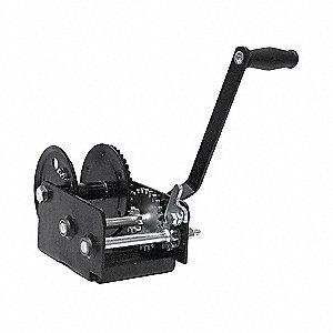 WINCH HAND GEN PUR 2SP 2WAY 2000LBS