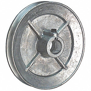 PULLEY SINGLE GROOVE 5X3/4IN