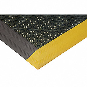 MAT ANTI-SLIP BK STD TOP 3 X 4 FT