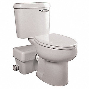 1/2 HP Macerating Toilet System, 115 Voltage, Basin Capacity: 4.0 gal.