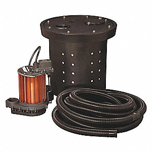 CRAWL SPACE SYSTEM,1/3 HP,115V
