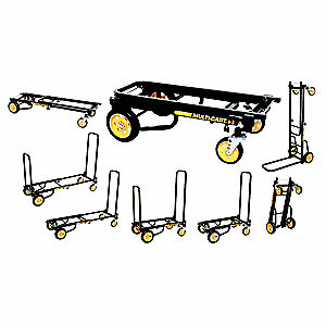 Convertible Hand Truck, Steel, 500 lb., Overall Height 33-1/4""