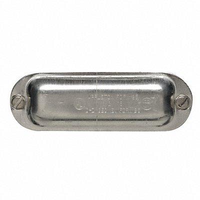 10V912 - Conduit Body Cover 1 in Aluminum Form 85