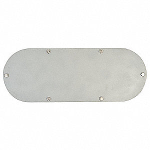 "Conduit Body Cover, 6"" Hub Size, For Use With Appleton Form 35 Unilet Conduit Outlet Bodies"