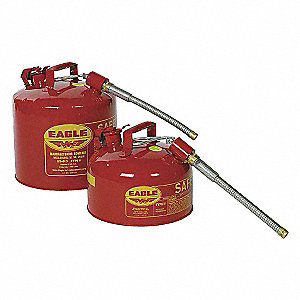 CAN SAFETY 2 GAL. RED TYPE II