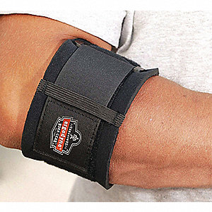 ELBOW SUPPORT, BLACK, X-LGE