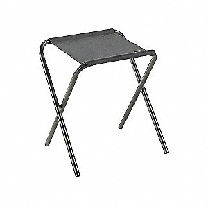 STOOL LIGHTWEIGHT FOLDING W/BACKING