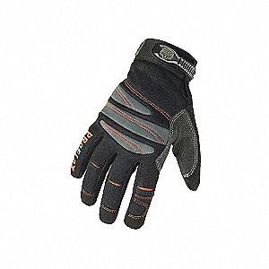 GLOVES MECH FULL FNGR BLACK