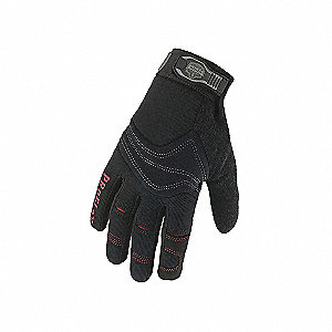 GLOVES UTILITY LGE GRAY/BLK