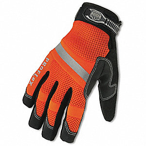 GLOVE HIVIS THERM WATERPROOF- SML