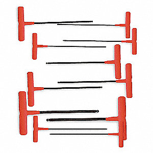 T HANDLE BALL HEX KEY SET 11PC