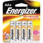 BATTERY ENERGIZER ADV ALK AA 4/PK