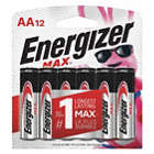 BATTERY ENERGIZER ALK 1.5V AA 12/PK