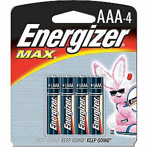 BATTERY ENERGIZER ALK 1.5V AAA 4/PK