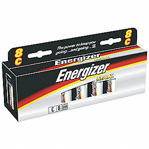 BATTERY ENERGIZER ALK 1.5V C