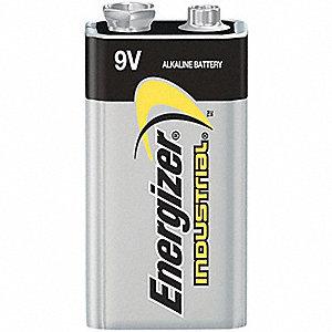 BATTERY 9V ENERGIZER IND ALKALINE