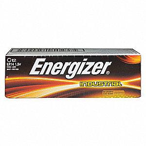 BATTERY C ENERGIZER IND ALKALINE