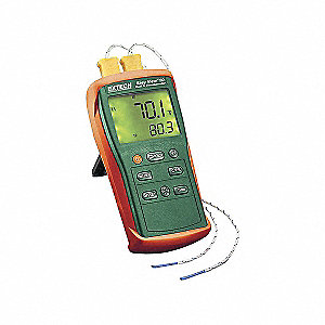 THERMOMETER DUAL INPUT TYPE K