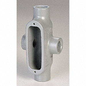 Conduit Outlet Body,Iron,X,1 In.
