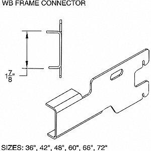 TYPE 1 FRAME CNCTR WB36 GREY