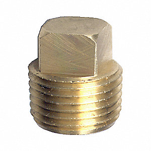 FITTING PIPE PLUG SQUARE HEAD 1/4IN
