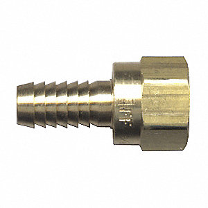 FITTING HOSE BARB SWIVE 1/4 TO 5/16