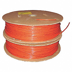 TUBING NYLON AB 1/4 OD RED