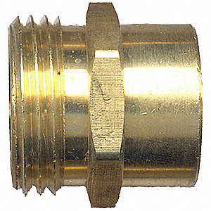 FITTING WATER HOSE COUPLING MAL 3/8