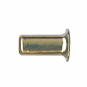 FITTING INSERT BRASS .375 TUBE I.D.