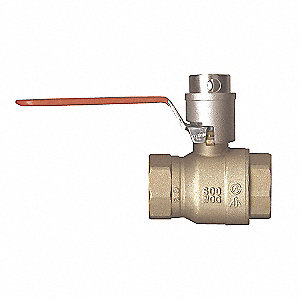 VALVE BALL LOCK HNDL 1-1/2IN FPT