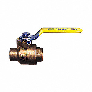 BALL VALVE BRASS 3/4F SOLDER