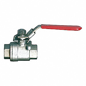 BALL VALVE 2PC STAIN 1 1/2 FPT