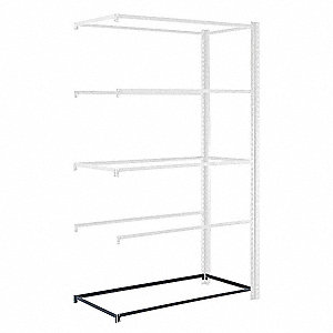 Extra Shelf Level,48inW,24inD,Gray