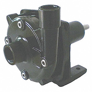 Centrifugal Pump Head, 1-1/2 HP Required, 1-1/4 Inlet (In.), 1 Outlet (In.)