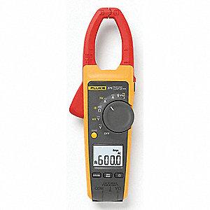 CLAMP 600A AC/DC W/CAP INRUSH FREQ