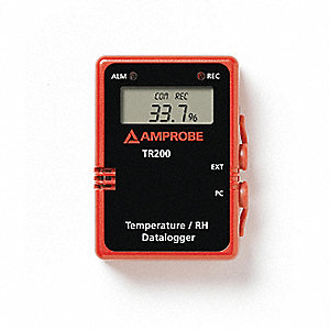 LOGGER DATA TEMP/RH W/DIG DISPLAY