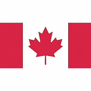FLAG CANADIAN 54INX108 SCREEN PRINT