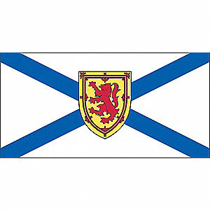 FLAG NOVA SCOTIA 36IN X 72IN