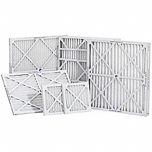 FILTER AIR EXT PLEAT 16X25X2 12/CA