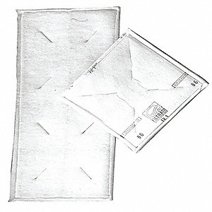 AEROSTAR PANEL WIRE SUPPORT M3 20X20IN 24/CA - Paint Filter Pad