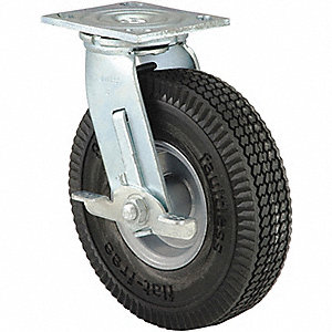 WHEEL FLAT FREE 6IN C/W 1/2 BALL BR